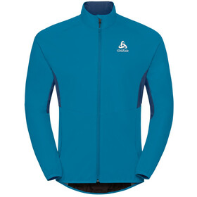 Odlo Aeolus Element Warm Jacket Herr blue jewel-poseidon